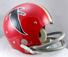 Atlanta Falcons 1966-1969 Throwback 2-Bar TK Riddell NFL Full Size Football Helmet