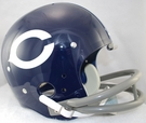 Chicago Bears 1962-1973 Throwback 2-Bar TK Riddell NFL Full Size Football Helmet