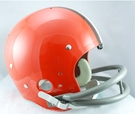 Cleveland Browns 1962-1974 Throwback 2-Bar TK Riddell NFL Full Size Football Helmet