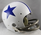 Dallas Cowboys 1960-1963 Throwback 2-Bar TK Riddell NFL Full Size Football Helmet