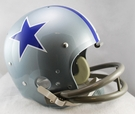 Dallas Cowboys 1964-1966 Throwback 2-Bar TK Riddell NFL Full Size Football Helmet