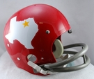Dallas Texans 1960-1962 Throwback 2-Bar TK Riddell NFL Full Size Football Helmet