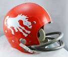 Denver Broncos 1962-1965 Throwback 2-Bar TK Riddell NFL Full Size Football Helmet