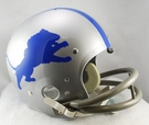 Detroit Lions 1962-1968 Throwback 2-Bar TK Riddell NFL Full Size Football Helmet