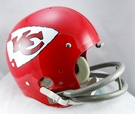 Kansas City Chiefs 1963-1973 Throwback 2-Bar TK Riddell NFL Full Size Football Helmet
