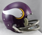 Minnesota Vikings 1961-1979 Throwback 2-Bar TK Riddell NFL Full Size Football Helmet