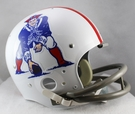 New England Patriots 1961-1964 Throwback 2-Bar TK Riddell NFL Full Size Football Helmet