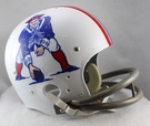New England Patriots 1965-1981 Throwback 2-Bar TK Riddell NFL Full Size Football Helmet