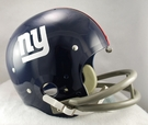 New York Giants 1961-1974 Throwback 2-Bar TK Riddell NFL Full Size Football Helmet