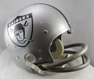 Oakland Raiders 1963 Throwback 2-Bar TK Riddell NFL Full Size Football Helmet