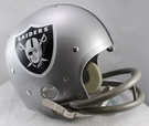 Oakland Raiders 1964 Throwback 2-Bar TK Riddell NFL Full Size Football Helmet