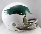 Philadelphia Eagles 1969-1973 Throwback 2-Bar TK Riddell NFL Full Size Football Helmet