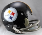 Pittsburgh Steelers 1963-1976 Throwback 2-Bar TK Riddell NFL Full Size Football Helmet
