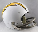 San Diego Chargers 1961-1973 Throwback 2-Bar TK Riddell NFL Full Size Football Helmet