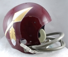 Washington Redskins 1965-1969 Throwback 2-Bar TK Riddell NFL Full Size Football Helmet