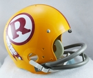 Washington Redskins 1970-1971 Throwback 2-Bar TK Riddell NFL Full Size Football Helmet