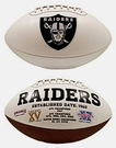 Marcus Allen - Autographed Raiders Full Size Logo Football