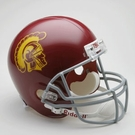 Marcus Allen - Autographed USC Trojans Riddell Full Size Deluxe Football Helmet