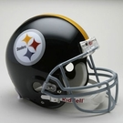 Terry Bradshaw - Autographed Pittsburgh Steelers Throwback Riddell Full Size Authentic Proline Football Helmet