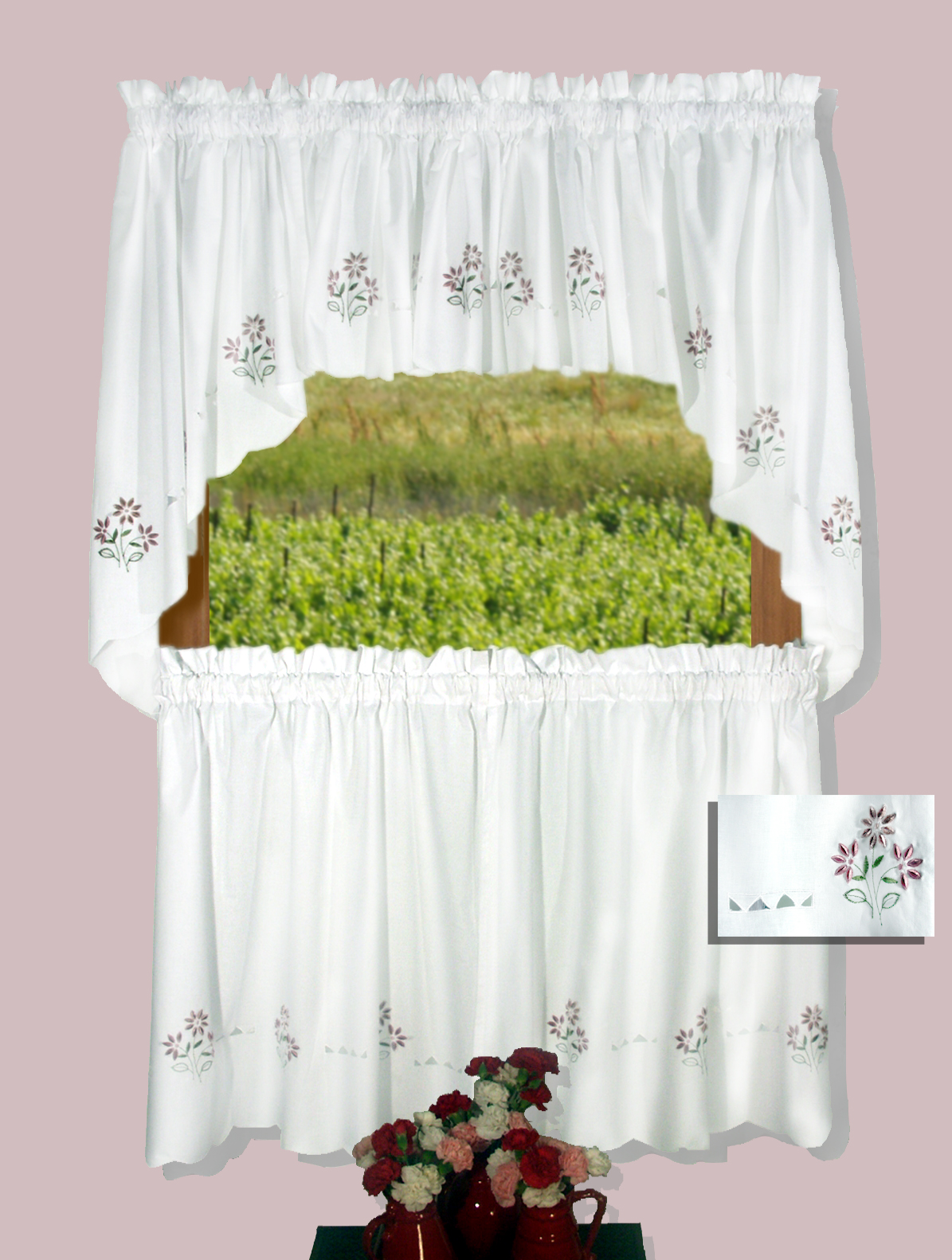 Molly 30 Tier Curtains