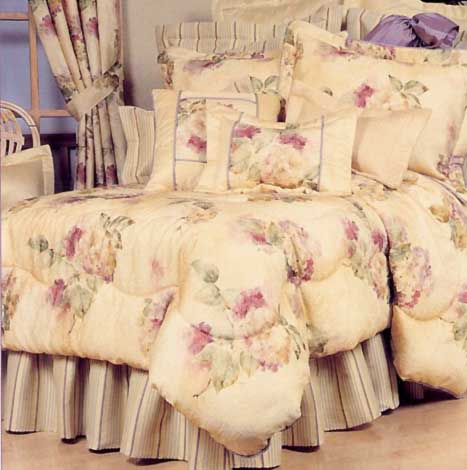 Comforter Set Bedding Curtain Valance, Bedding Set With Curtains