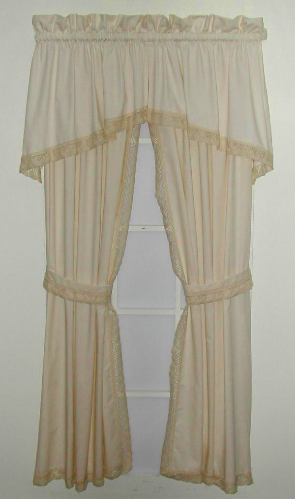 ivory and panel gold beautiful fabric prints curtain pin anthemion curtains