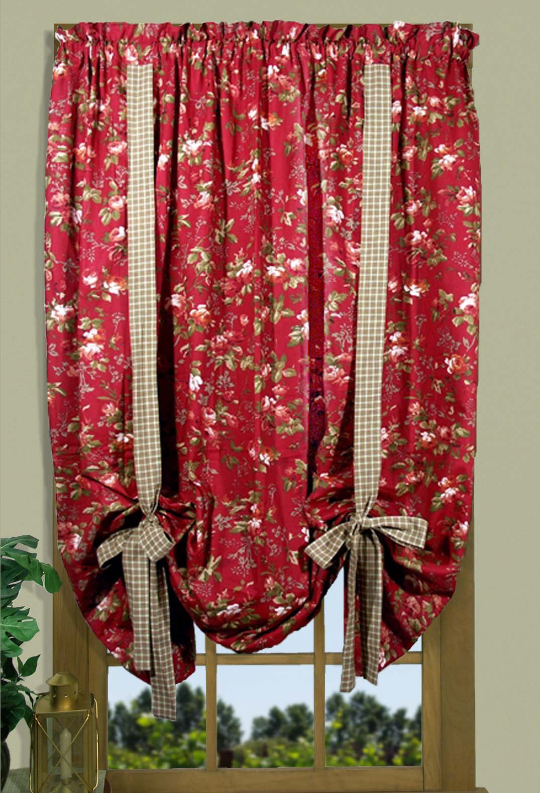Climbing Roses Valances Amp Curtains Thecurtainshop Com