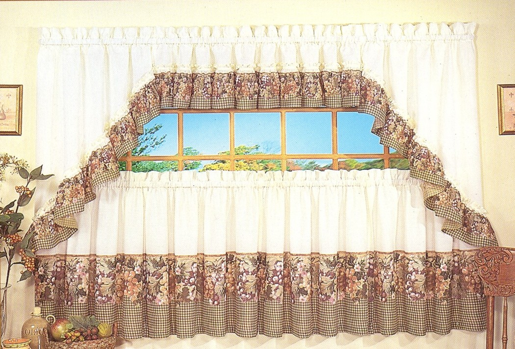 Tailored Valance Swag Tuscan Hills Clearance