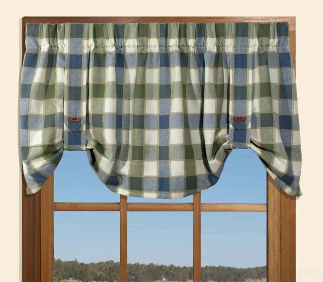 toile and monogram cornice trim ribbon curtain curtains in pelmet navy gingham royal custom topper box white board treatment valance va blue with window