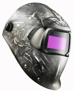 3M Speedglas 100V Welding Helmet - Steel Rose 07-0012-31SR