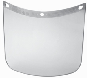 Fibre-Metal Clear Faceshield Window 4118CL