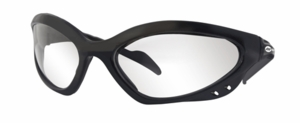Miller Safety Glasses - Clear Lens w/Black Frame 238979