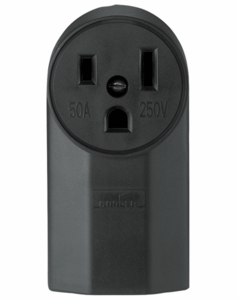 Cooper Primary Power Receptacle - 230 Volt NEMA 6.50R 1252