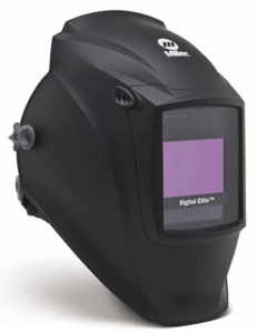 Miller Welding Helmet - Black Digital Elite Lens 257213