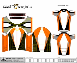 Custom cycling jersey design template for Custom cycling jersey template