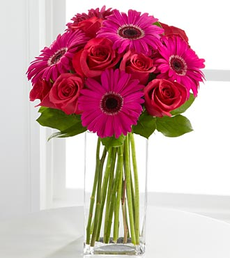 Hot Pink Love Valentine's Day Bouquet