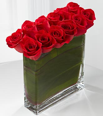 Eloquent™ Red Rose Bouquet