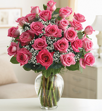Ultimate Elegance - Premium Long Stem Pink Roses