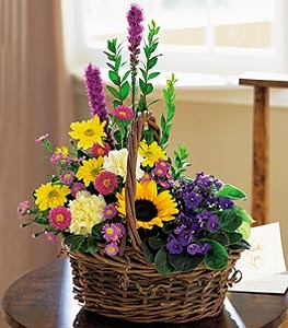Basket of Glory - Designs East Florist Dallas