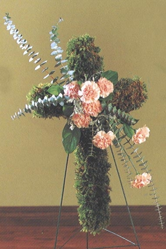 Funeral Mosses - Designs East Florist Dallas