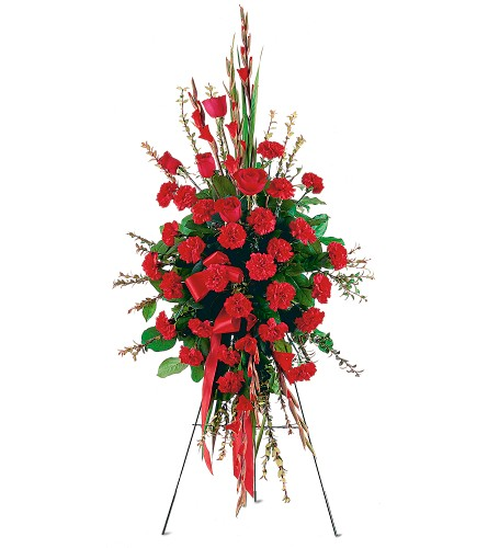 Flowers Delivery To Forest Lawn Funeral Home - Designs East Florist Dallas