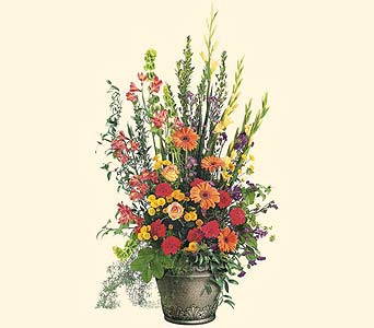 Grecian Garden - Designs East Florist Dallas