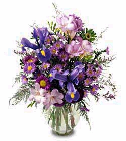 My One and Only™ purple flowers Bouquet