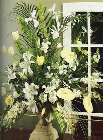 Elegance White Flowers - Designs East Florist Dallas