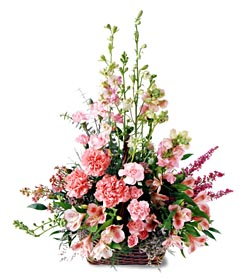 Exquisite Memorial™ Basket - Designs East Florist Dallas