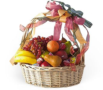 Country Fruit Basket - Designs East Florist Dallas