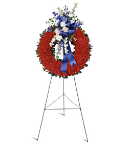 All American Tribute™ Wreath - Designs East Florist Dallas