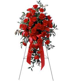 Flowers Delivery To Thrash Funeral Home - Designs East Florist Dallas