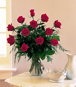 Dozen Red Roses - Designs East Florist Dallas