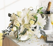New Year's Arrangement - Designs East Florist Dallas